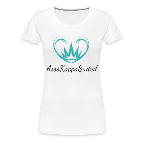 AssoKappaSuited - Maglietta Premium da donna