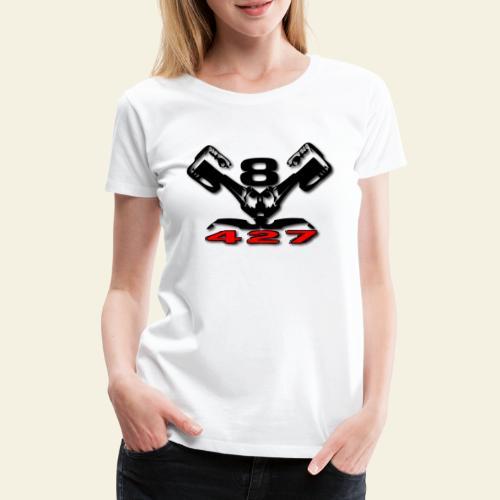 427 v8 - Dame premium T-shirt