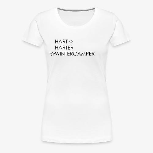 Wintercamper - Frauen Premium T-Shirt