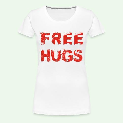 Free Hugs // Flirten // T-Shirt - Frauen Premium T-Shirt