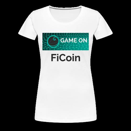 GameOn Dark Tekst - Vrouwen Premium T-shirt
