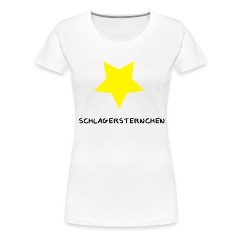 schlagersternchen - Frauen Premium T-Shirt