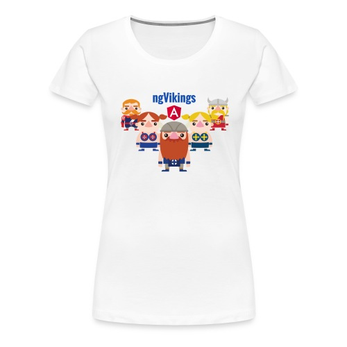 ngVikings friends - Dame premium T-shirt