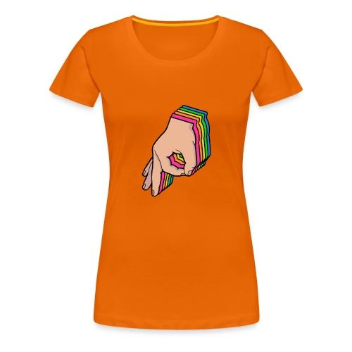 The Circle Game Rainbow - Women's Premium T-Shirt