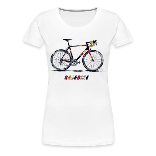 RACEBIKE - Frauen Premium T-Shirt