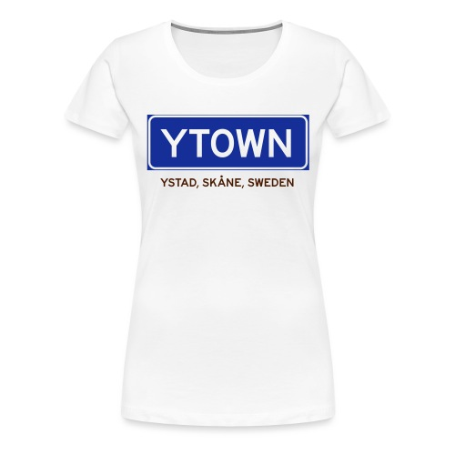 Ystad, Badly Translated - Premium-T-shirt dam