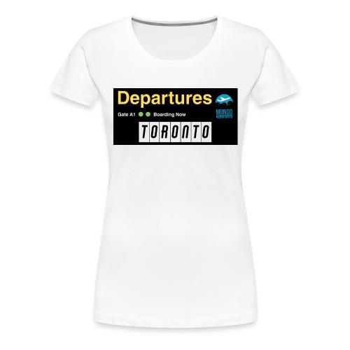 TORONTO png - Maglietta Premium da donna