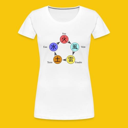 Mug Chakra - T-shirt Premium Femme