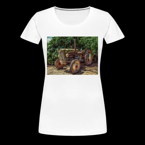 Traktor Oldtimer - Frauen Premium T-Shirt