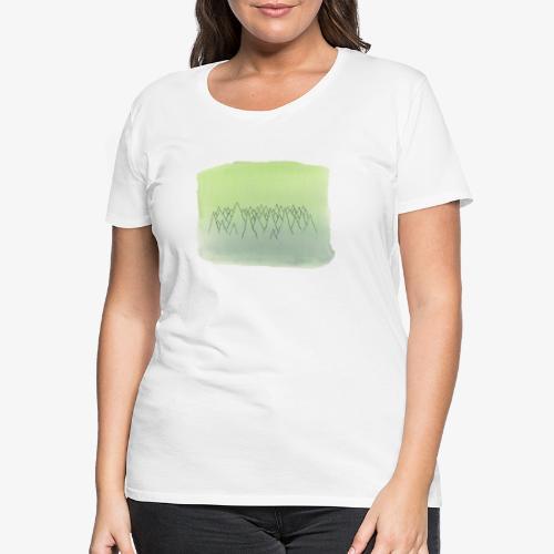 foret de sapins - T-shirt Premium Femme