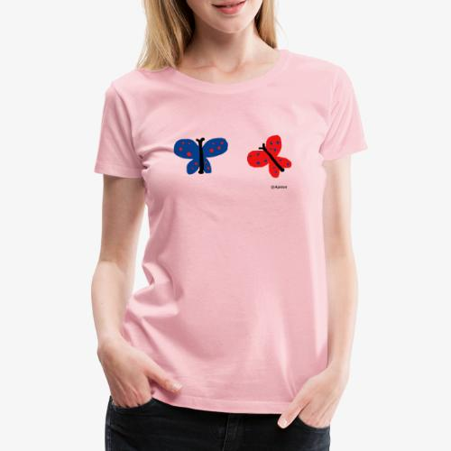 Perhoset - Naisten premium t-paita