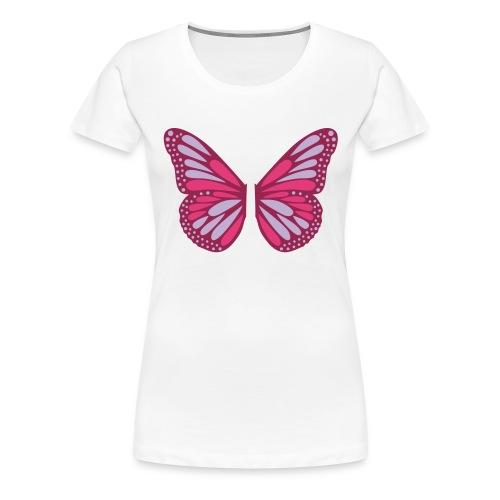 Butterfly Wings - Premium-T-shirt dam