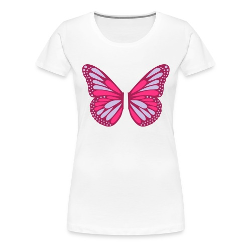 Butterfly Wings - Premium-T-shirt dam