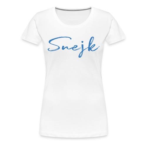 Snejk - Premium-T-shirt dam