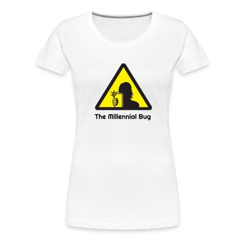 The Millennial Bug - Women's Premium T-Shirt