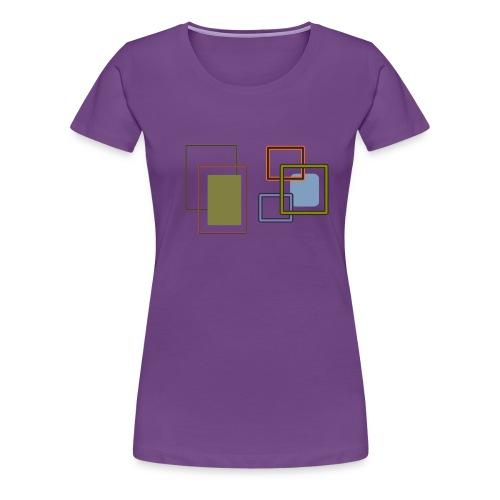 Quadratisch - Frauen Premium T-Shirt