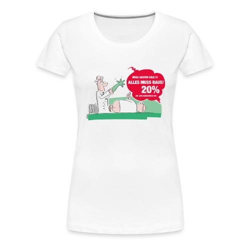 Darmspiegelung - Frauen Premium T-Shirt