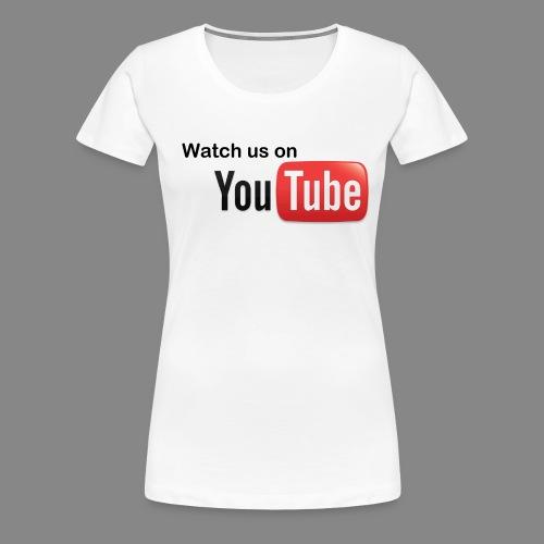 youtube hd logo by marcosrstone d37ot4e png - Vrouwen Premium T-shirt