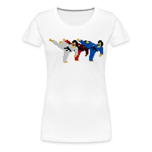 8 bit trip ninjas 2 - Women's Premium T-Shirt