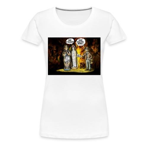 Indianer-Jones - Frauen Premium T-Shirt