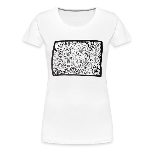 CrazyBunch - T-shirt Premium Femme