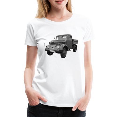 Garant K 30 Robur Zittau DDR Oldtimer Lkw - Frauen Premium T-Shirt