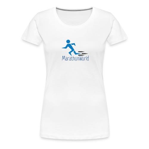 MarathonWorld - Maglietta Premium da donna