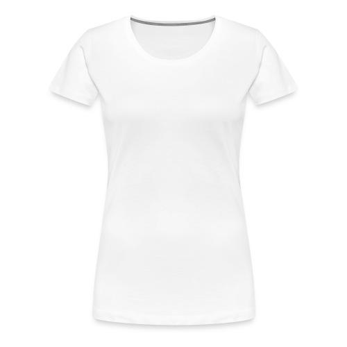 Female Exclusive Rose Dot White V-Neck T-Shirt - Women's Premium T-Shirt