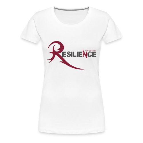 Logo groupe RESILIENCE - T-shirt Premium Femme