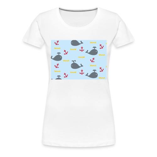 Whale Case - Camiseta premium mujer
