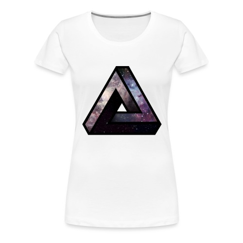 Space triangle - T-shirt Premium Femme