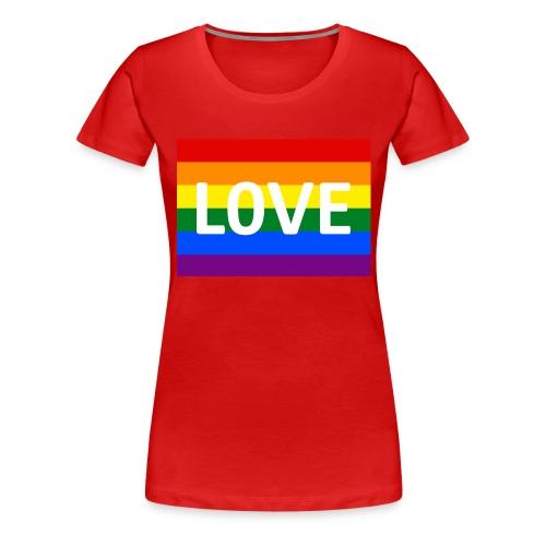LOVE SHIRT - Dame premium T-shirt