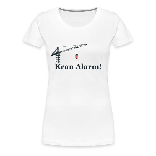 Kran Alarm - Dame premium T-shirt