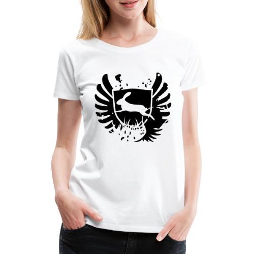 bunny hase kaninchen häschen karnickel mümmelmann - Frauen Premium T-Shirt