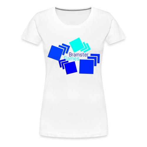 Bramster Games Nieuw Logo - Vrouwen Premium T-shirt