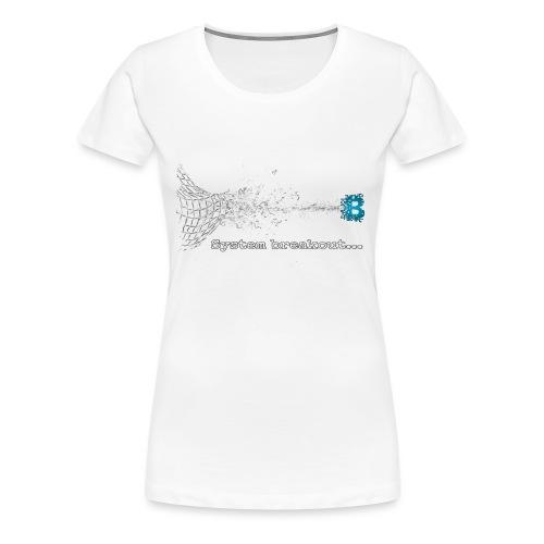 Breakout Blockchain - Frauen Premium T-Shirt