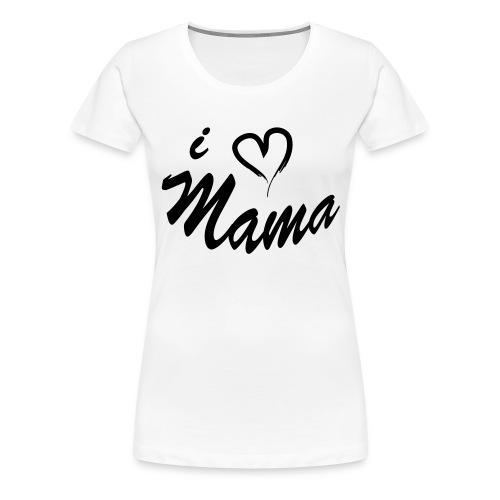 i love mama KIDS shirt - Vrouwen Premium T-shirt