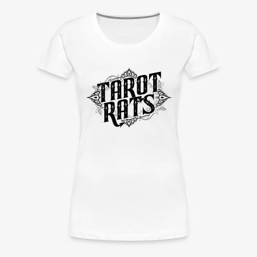 Tarot Rats Logo CLEAR - Women's Premium T-Shirt