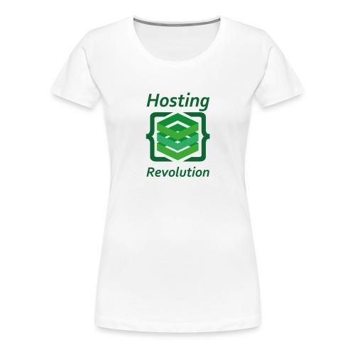 Hosting Revolution - Maglietta Premium da donna