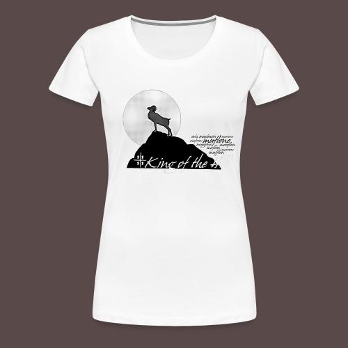 Muflone Halftone - Maglietta Premium da donna
