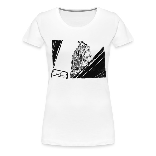 alex_on_bright_bg - Frauen Premium T-Shirt