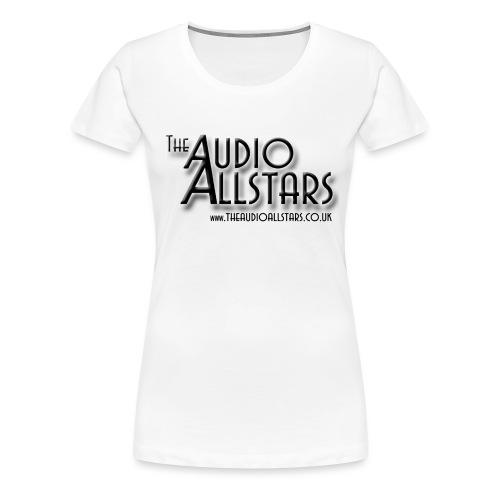 The Audio Allstars logo - Women's Premium T-Shirt
