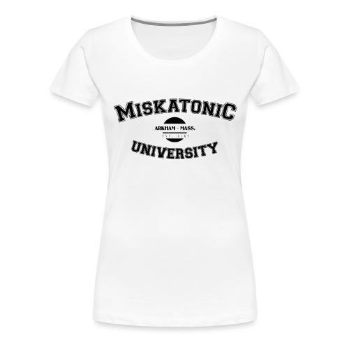 Miskatonic - T-shirt Premium Femme