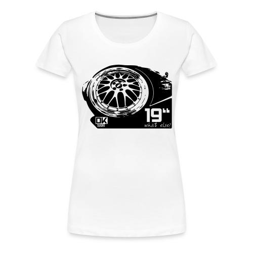 19inch1 - Frauen Premium T-Shirt