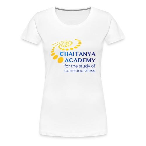 Chaitanya Academy Logo - Frauen Premium T-Shirt