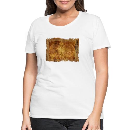 map of the world 2241469 1920 - Frauen Premium T-Shirt