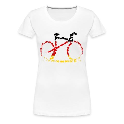 Germany bike chain scale - Women's Premium T-Shirt