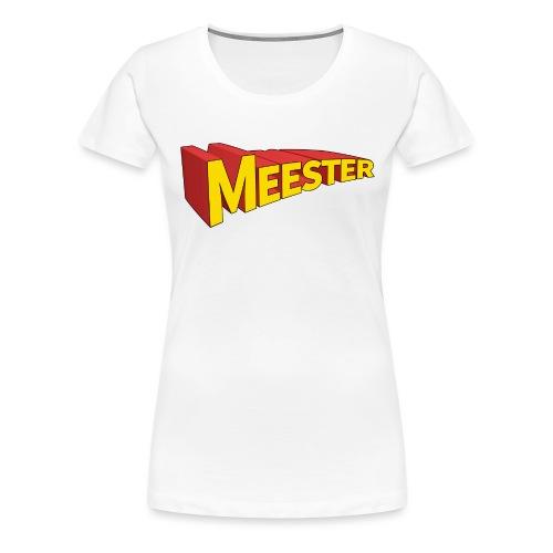 meester held png - Vrouwen Premium T-shirt