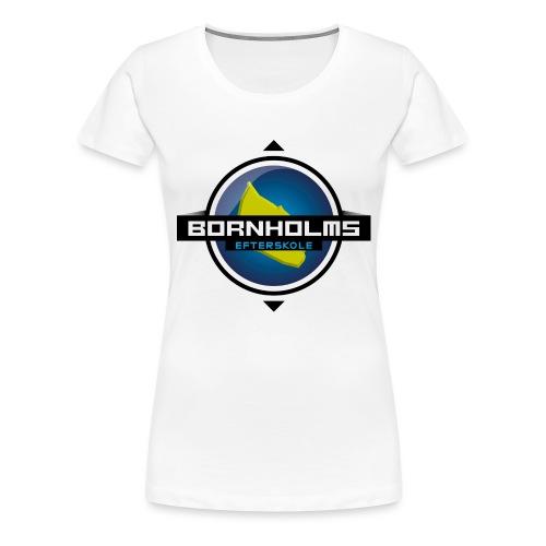 BORNHOLMS_EFTERSKOLE - Dame premium T-shirt