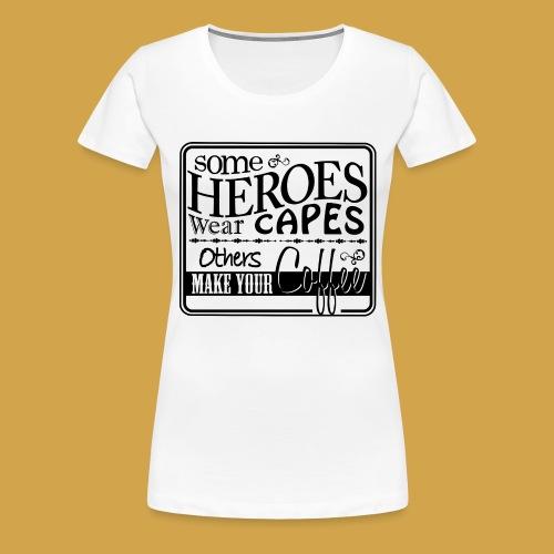 coffeeprint8F - Dame premium T-shirt